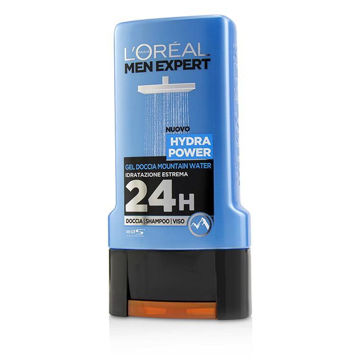 Men Expert Shower Gel - Hydra Power (For Body, Face & Hair)-300ml/10.1oz