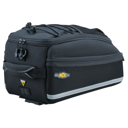 - Topeak RX TrunkBag EX Rear Rack Bike Gear Bag With Shoulder Strap, Top Bungee