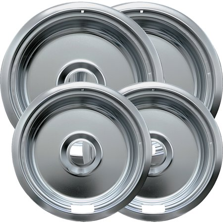 Range Kleen 4-Piece Drip Bowls, Style F fits Canadian Plug-In Electric Ranges