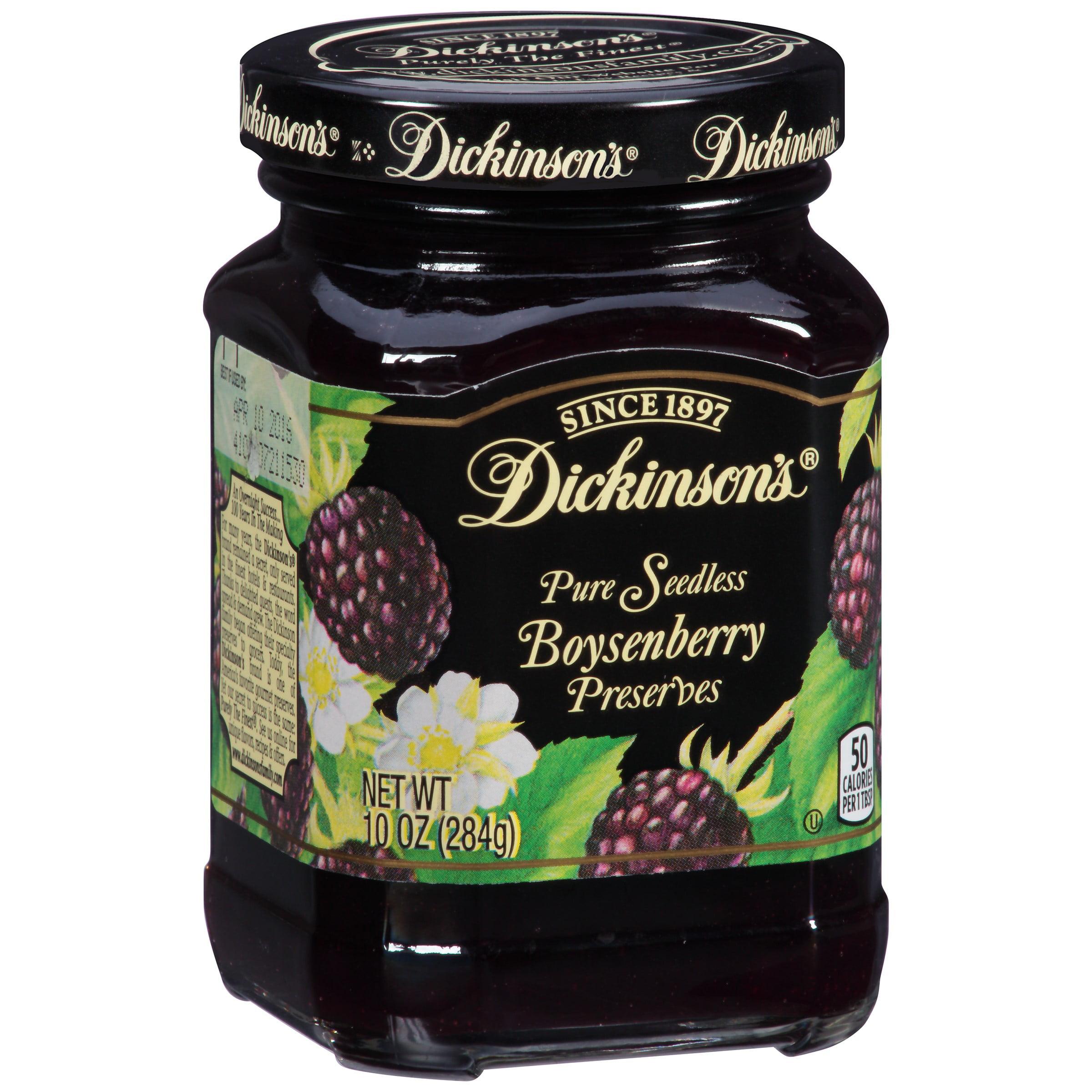 Dickinson's Preserves Seedless Boysenberry 10 oz by JM SMUCKER