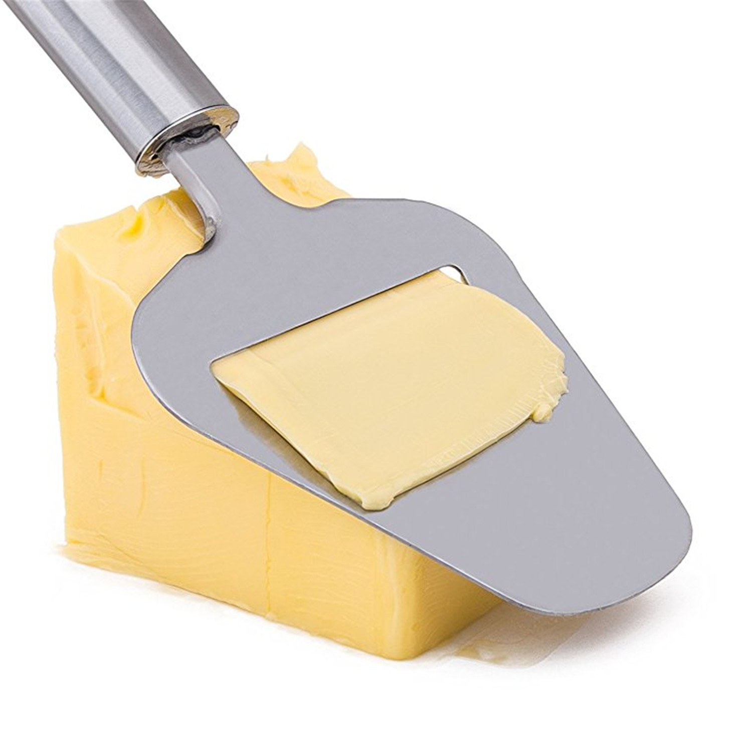 Lunaya Cheese Slicer For Hard Cheese High Grade Stainless Steel Plane Cutter Slices Knives Kitchen Gadget Tool Mother Gift