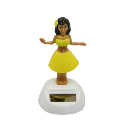 Solar Powered Dancing Hula Girl Assorted Color Toys Decor. - Halloween Solar Dancing Toys
