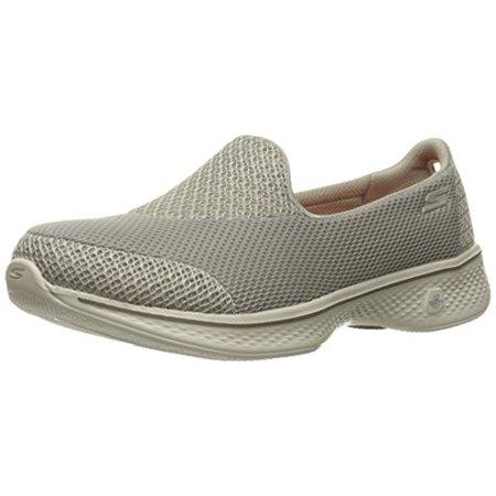 0558dc9e0f63 Skechers - 14170 Taupe Skechers Shoes Go Walk 4 Women Light Mesh Slip On  Comfort Casual New 14170TPE - Walmart.com