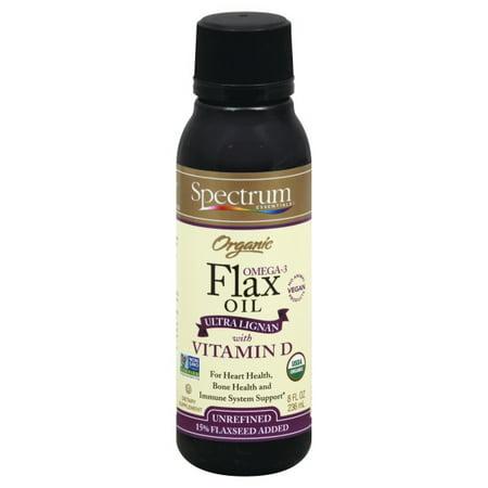 Hain Celestial Group Spectrum Essentials  Flax Oil, 8