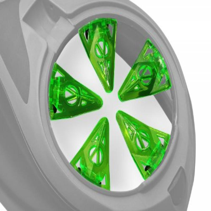 Virtue Paintball Crown SF Spring Finger Speed Feed Dye Rotor Lime by