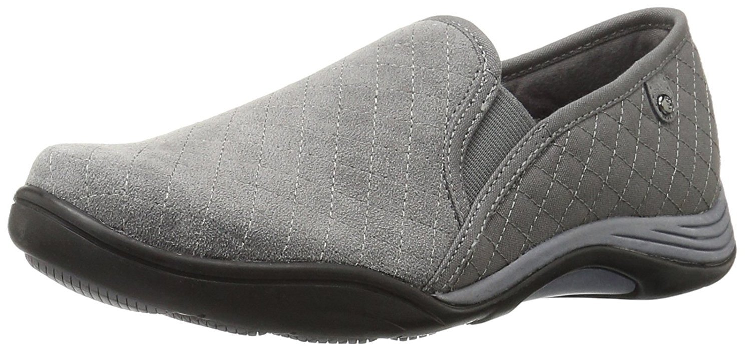 Grasshoppers Women's Clara Slip-On Fashion Sneaker, Black, 7 M US by Grasshoppers