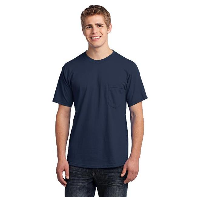 Port & Company® - All-American Pocket Tee. Usa100p Navy 3Xl - image 1 de 1