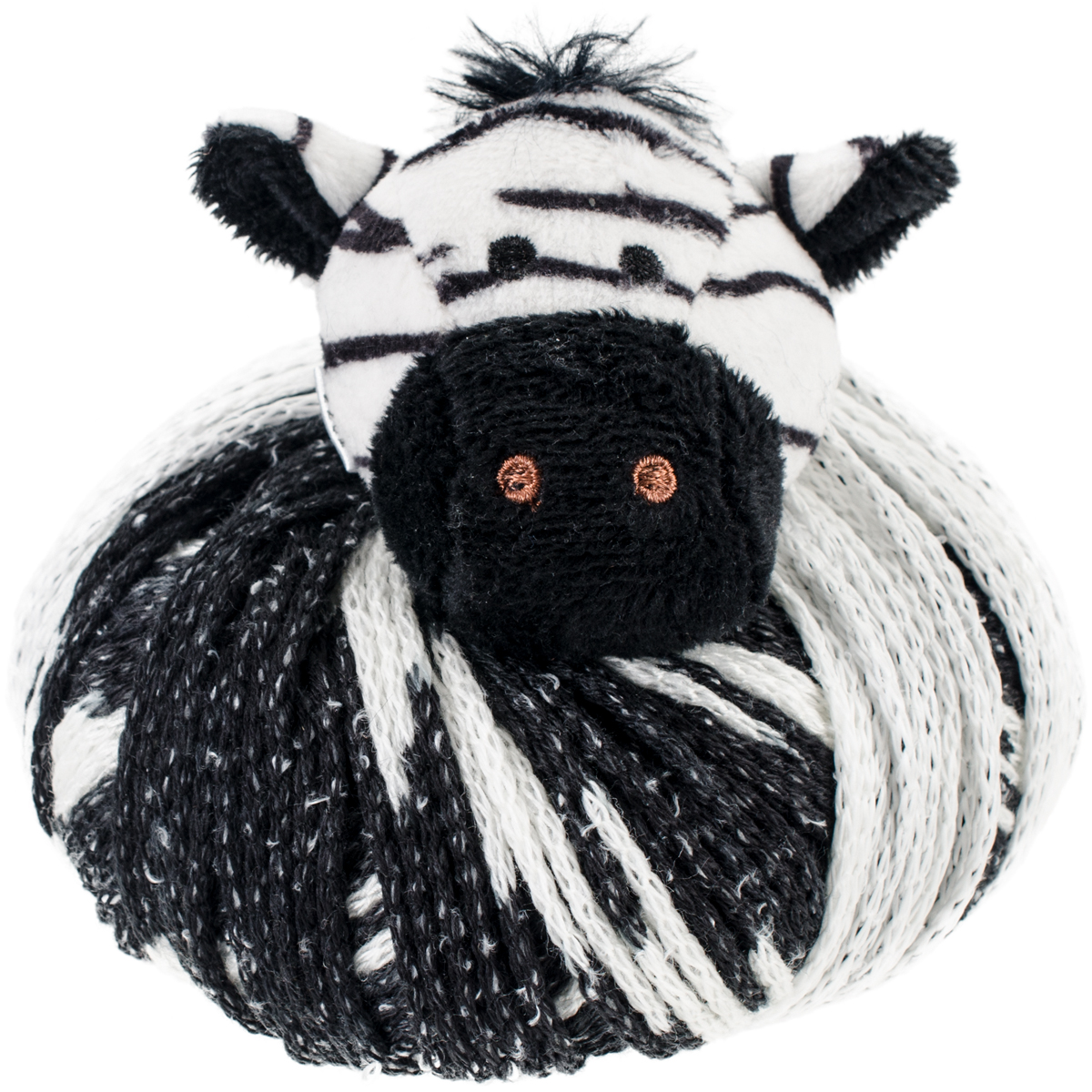 DMC Top This! Special FX Yarn-Zebra - Glow In The Dark