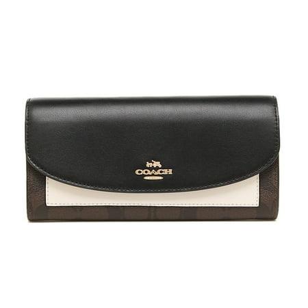 COACH Signature Slim Envelope Wallet in Colorblock in (Signature Slim Envelope)
