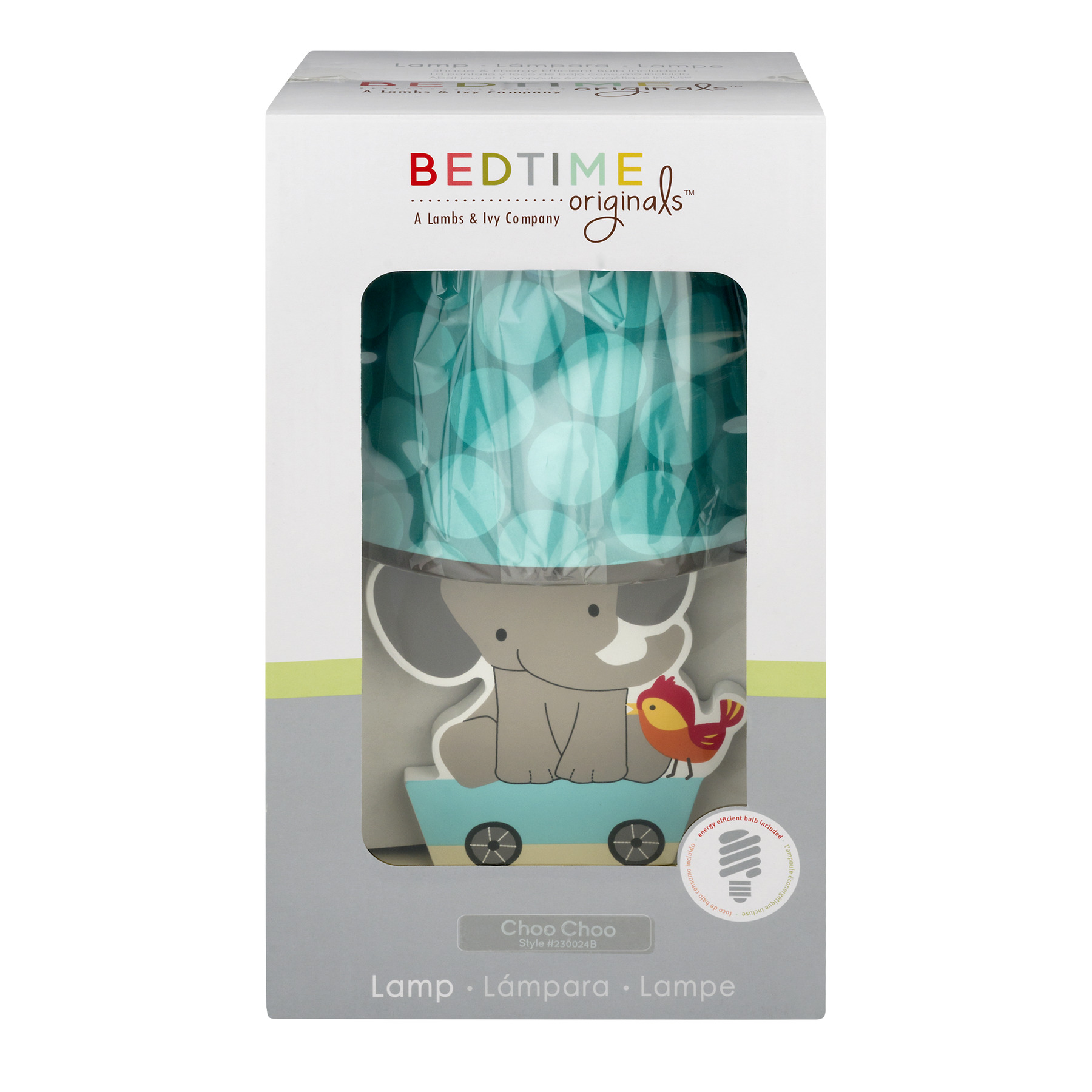 Bedtime Originals Lamp Choo Choo -1 CT1.0 CT