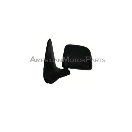 Replacement Driver Side Black Manual Mirror For 93-11 Ford (Ford Ranger Manual Mirror Driver)