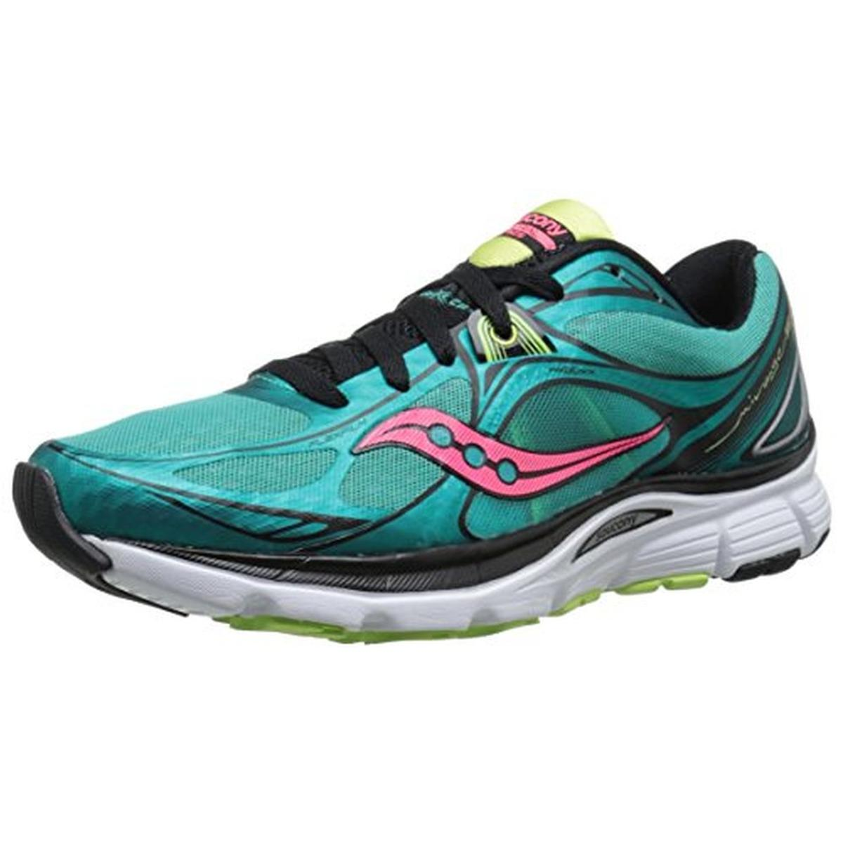 Saucony Womens Mirage 5 Mesh Metallic Running Shoes by Saucony