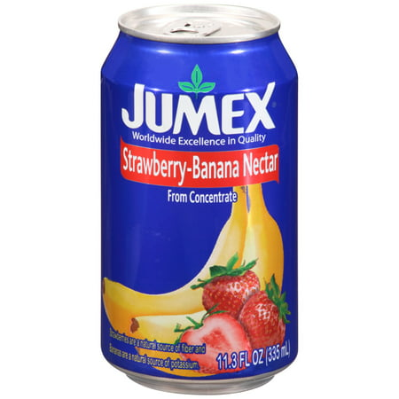Berry Nectar - (12 Pack) Jumex Fruit Nectar, Strawberry and Banana, 11.3 Fl Oz, 1 Count