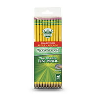 Ticonderoga Soft Pencil - Yellow - Pre-Sharpened 30 Count