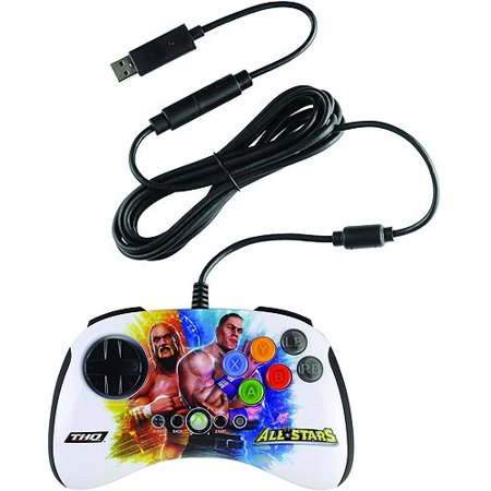 Xbox 360 WWE All STARS BrawlPad Hulk Hogan and John Cena (Xbox 360 Starwars Controller)