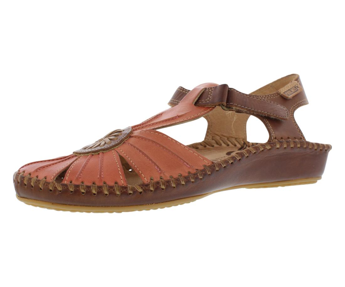 Piko Linos Salmon Sandals Women's Shoes Size 36