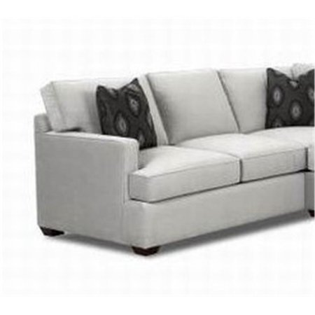 Klaussner Furniture K29000l Loomis Corner Sofa Grey