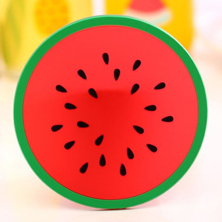 Creative Coaster Fruit Shape Silicone Cup Pad Slip Insulation Pad Cup Mat Pad Hot Drink