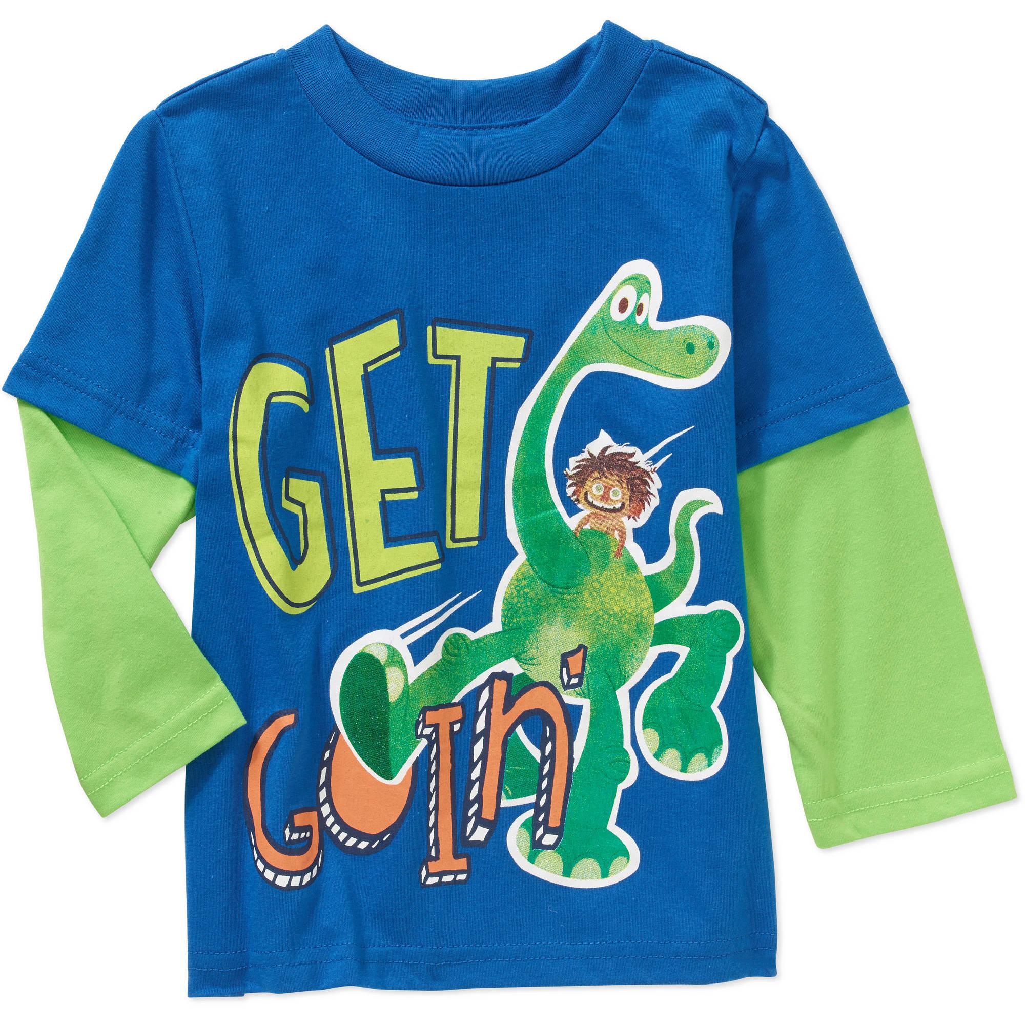 Disney The Good Dinosaur Toddler Boy 2Fer Long Sleeve Tee