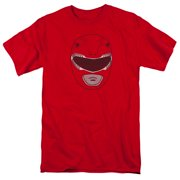 Power Rangers - Red Ranger Mask - Short Sleeve Shirt - XXXX-Large
