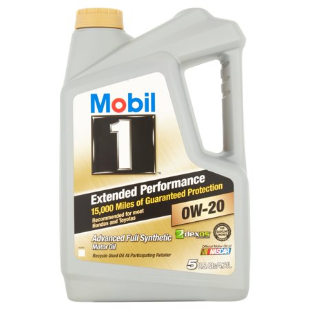 Mobil 1 Extended Performance 0W 20 Full Synthetic Motor Oil  5 Qt