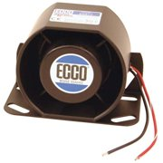 ECCO Back Up Alarm,Self-Adjusting 87-112dB SA917N