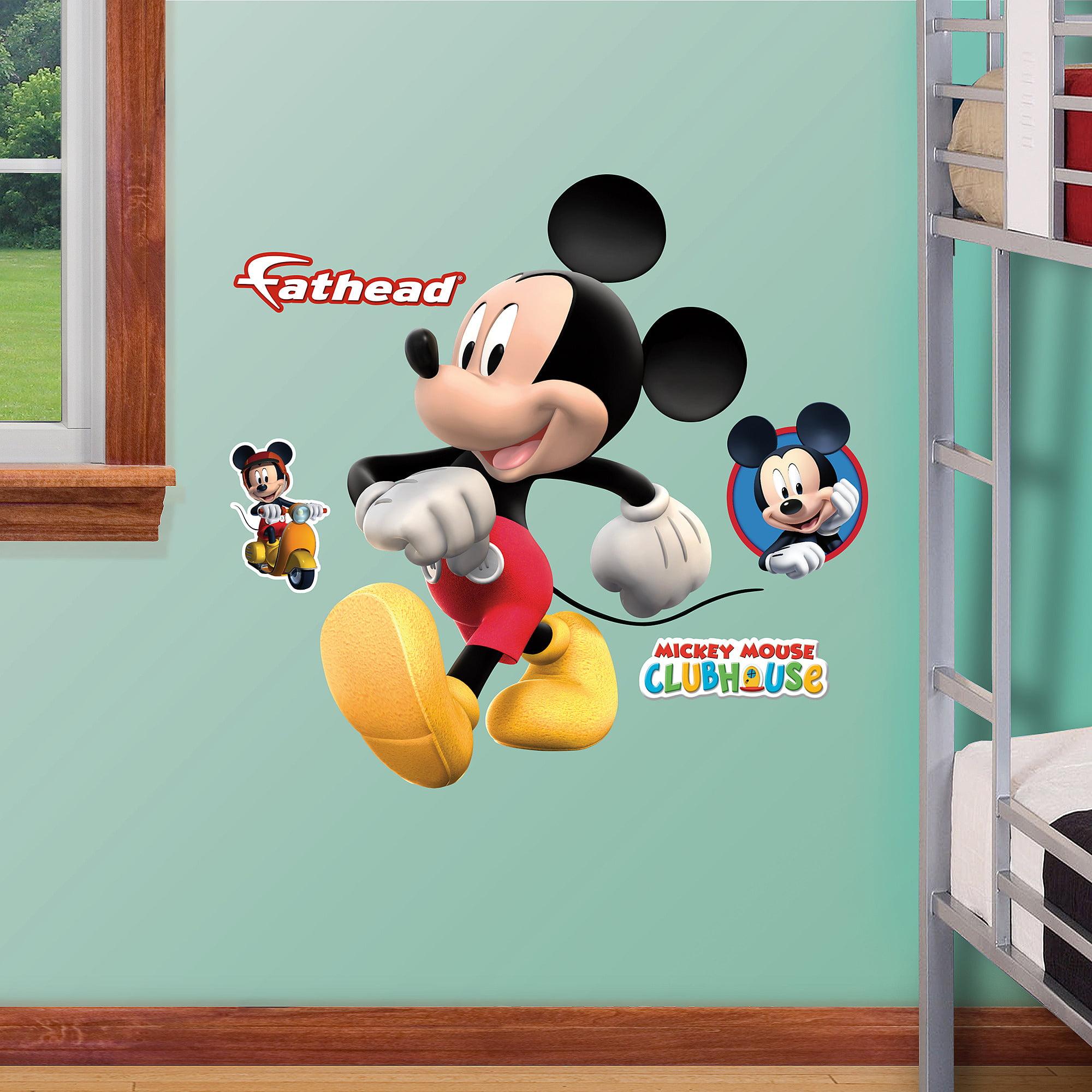 Mickey Mouse Fathead Jr   Walmart.com