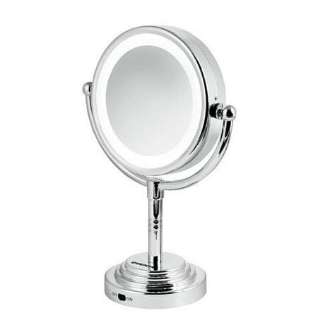 Ovente Led 5x Cosmetic Mirror Walmart Com