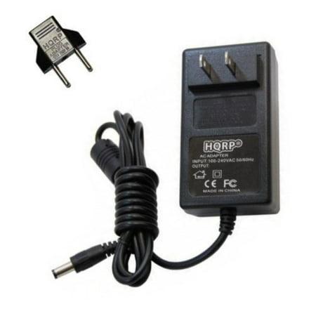 HQRP 18V AC Adapter / 18-Volt Adaptor for Jim Dunlop ECB-04 / ECB04 / ECB004 / ECB-004 / AD-1815 / 93600890017 / 0107 CPC GP / E87297 Replacement Power Supply Cord plus HQRP Euro Plug