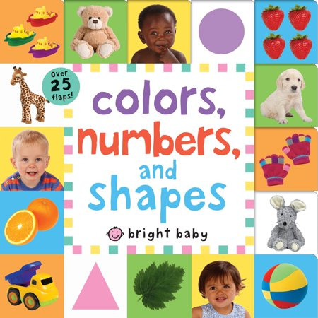 Lift-The-Flap Tab: Colors, Numbers, Shapes (Board Book) Tab Book Part