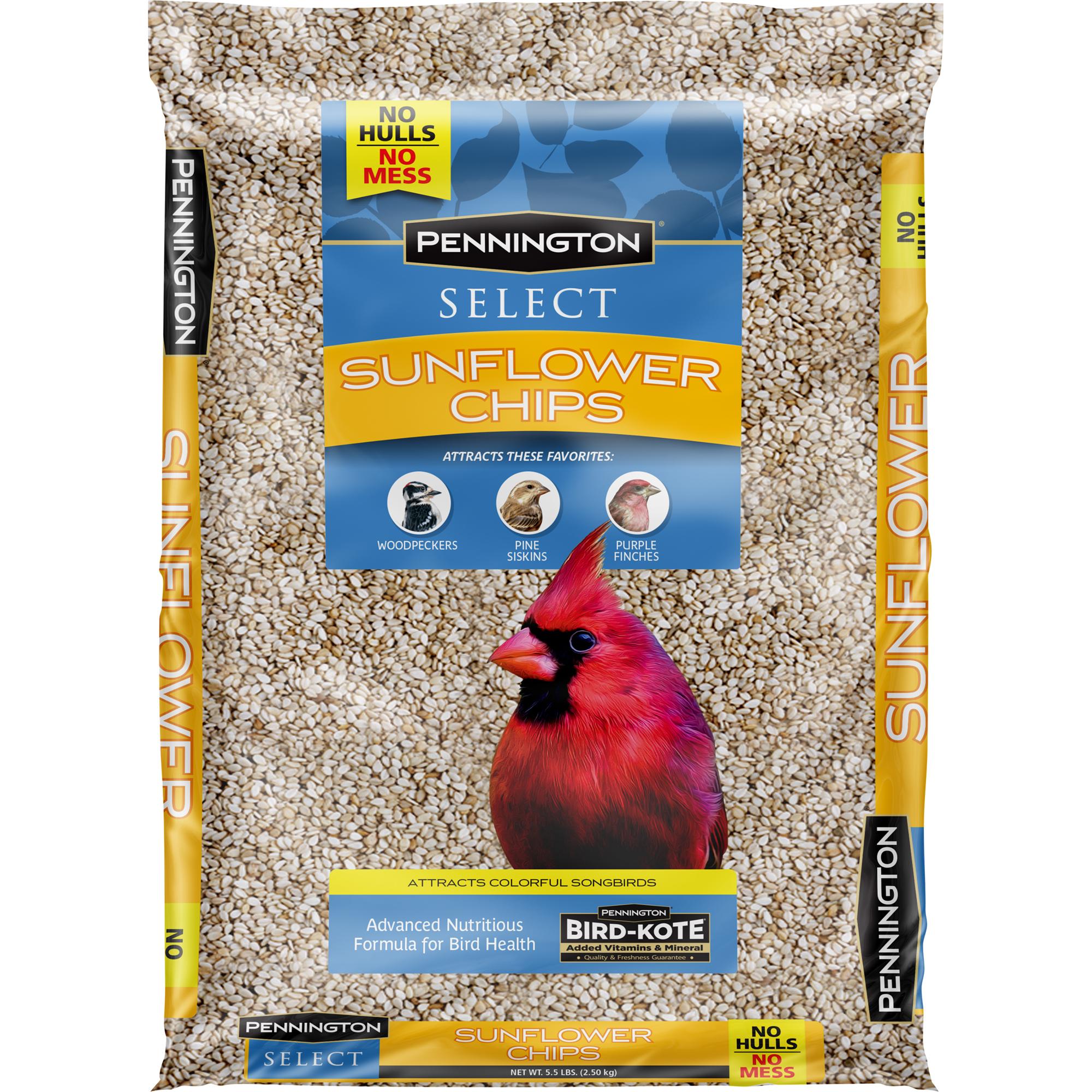 Pennington Sunflower Chips Wild Bird Feed, 5.5 lbs