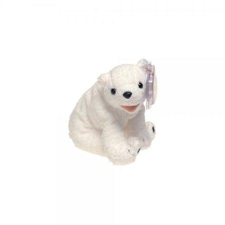Polar Bear Beanie - Ty Beanie Babies Aurora - Polar Bear