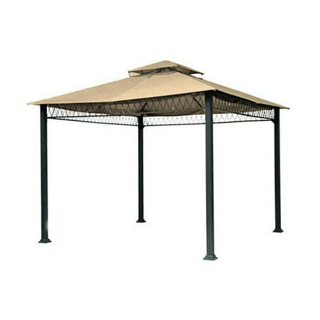 Garden Winds Havenbury Gazebo Replacement Canopy Top and Side Mosquito Netting Set,