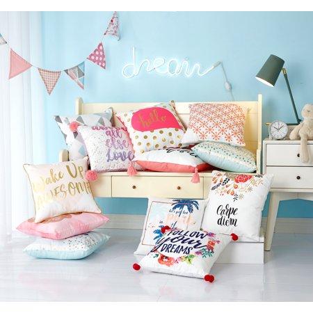 Shop MixAndMatch Back To College Decorative Throw Pillows Mesmerizing College Decorative Pillows