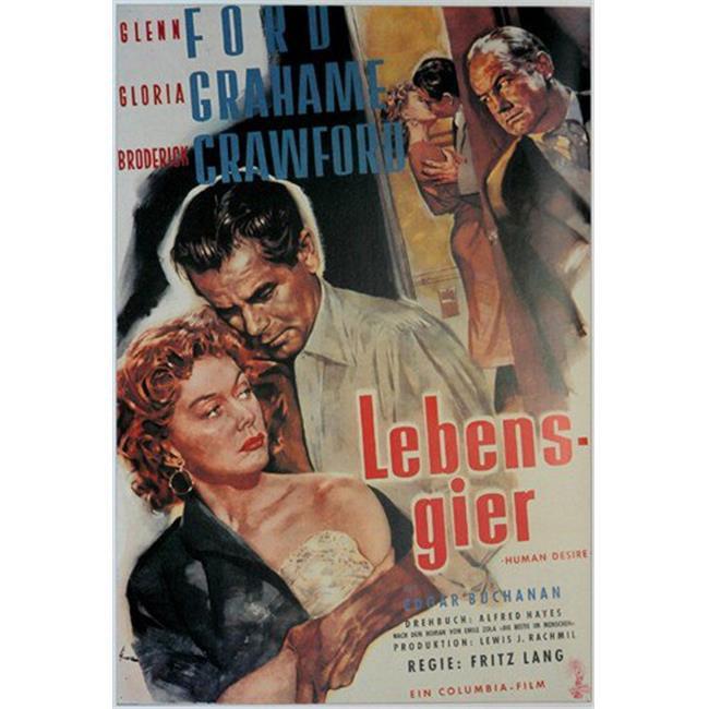 Posterazzi MOVEJ5831 Human Desire Movie Poster - 27 x 40 in. - image 1 de 1