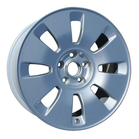 2000-2004 Audi A6  17x8 Aluminum Alloy Wheel, Rim Sparkle Silver Full Face Painted - 58734