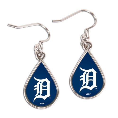 Detroit Tigers WinCraft Tear Drop Dangle Earrings - No Size