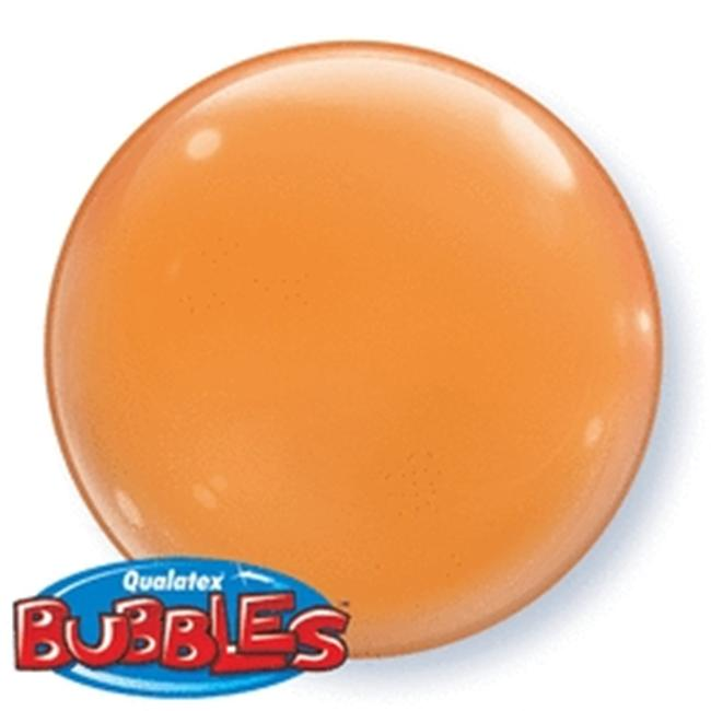 Mayflower 46539 15 Inch Solid Color Bubble - Orange Pack Of 4