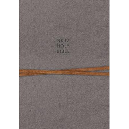 NKJV, Journal the Word Reference Bible, Cloth Over Board, Gray, Red Letter Edition, Comfort Print : Let Scripture Explain Scripture. Reflect on What You
