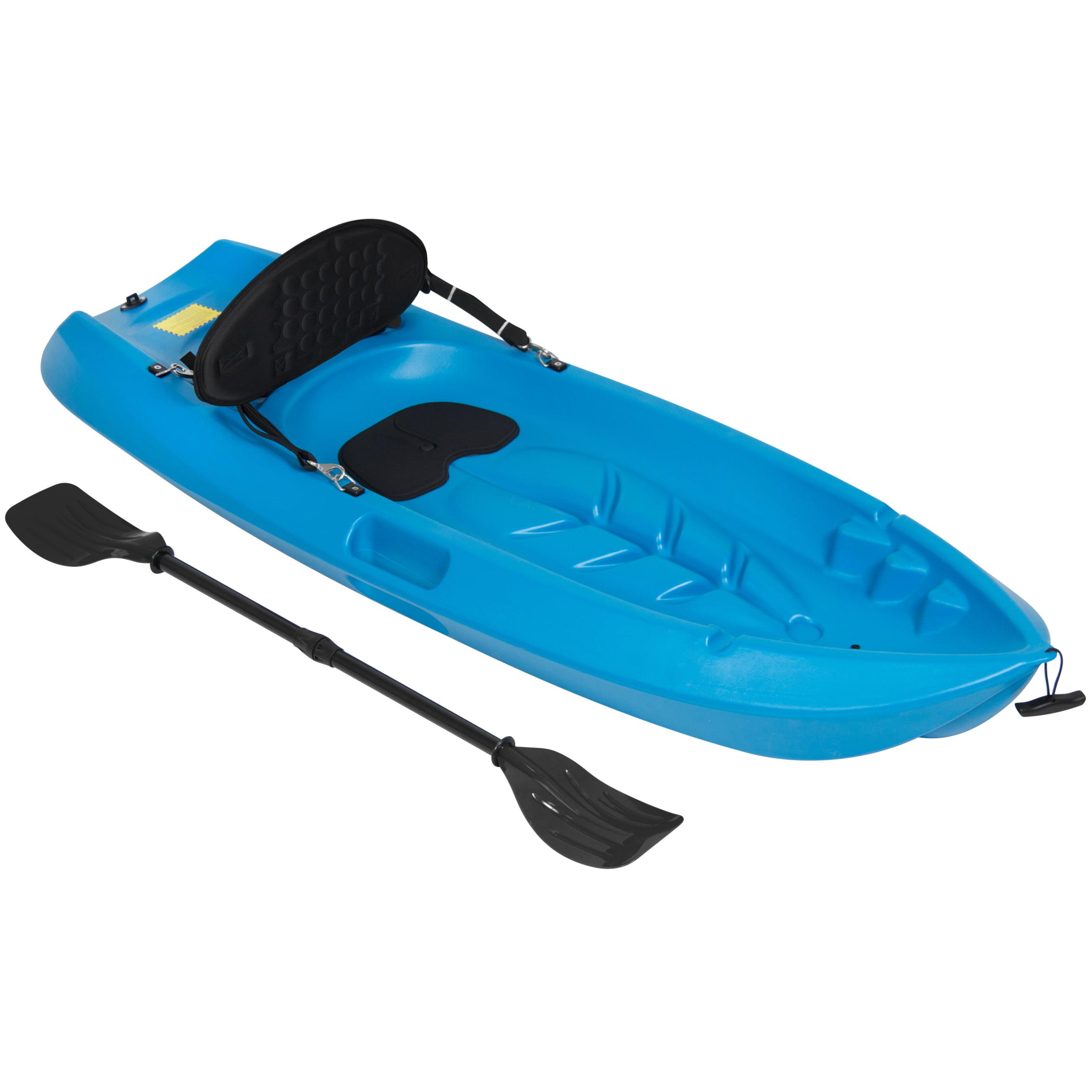 Best Choice Products 6ft Kids Kayak w/ Bonus Paddle and Cushioned Backrest