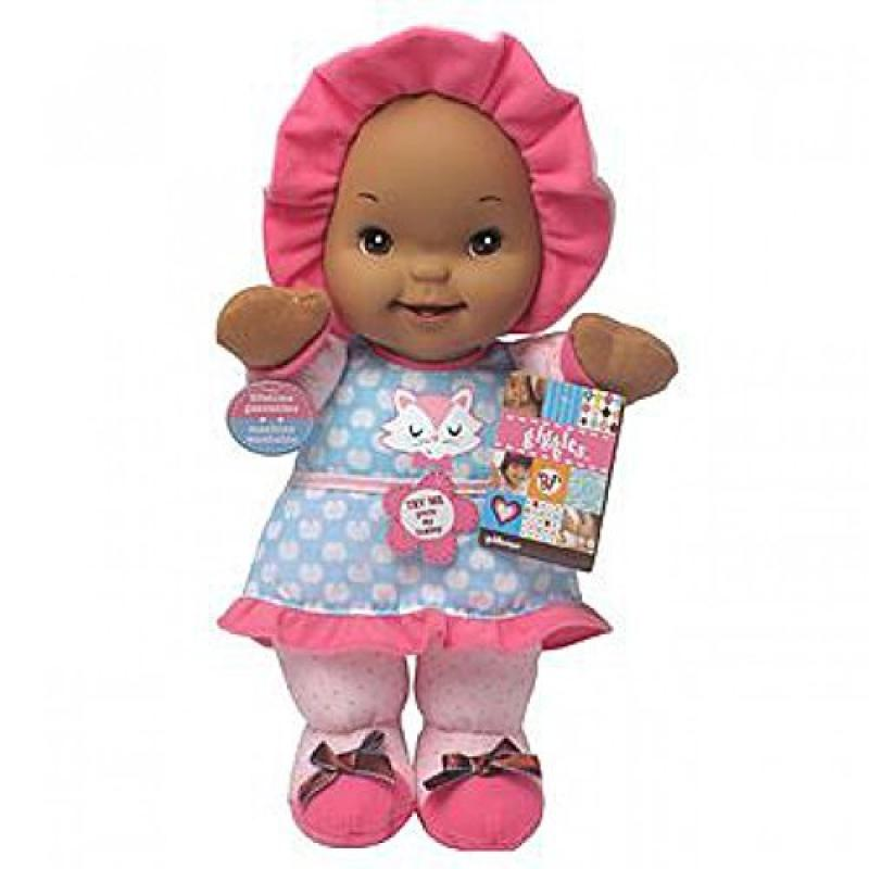 "Goldberger Baby's First ""Kisses"" Doll African American -Colors and Styles Vary by"