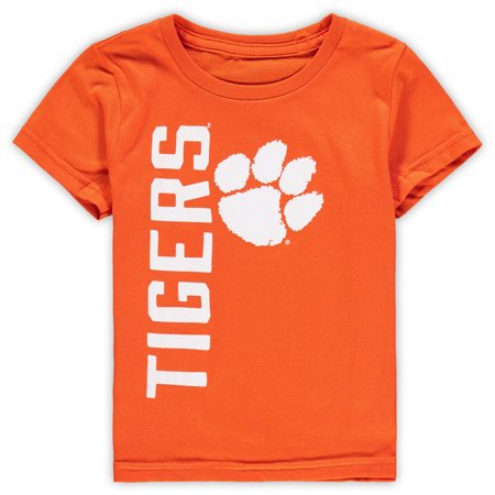 Bold Tigers - Clemson Tigers Toddler Big & Bold T-Shirt - Orange