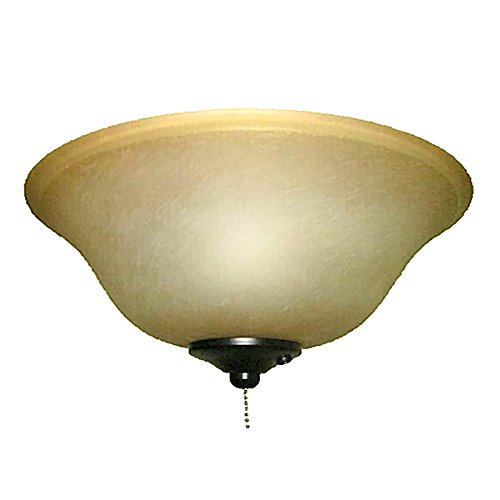 Harbor Breeze 2 Light Blackbronze Incandescent Ceiling Fan Light Kit With Alabaster Glass Or Shade Walmart Com Walmart Com