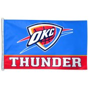 WinCraft Oklahoma City Thunder 3' x 5' Wordmark Flag