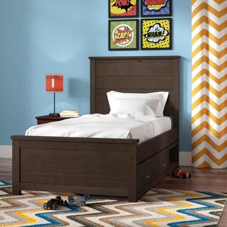 grovelane teen stella twin storage panel bed. Black Bedroom Furniture Sets. Home Design Ideas