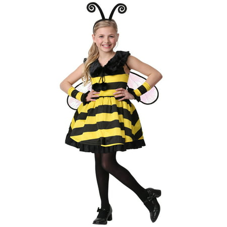 Girl's Deluxe Bumble Bee Costume - Bumble Bee Costumes