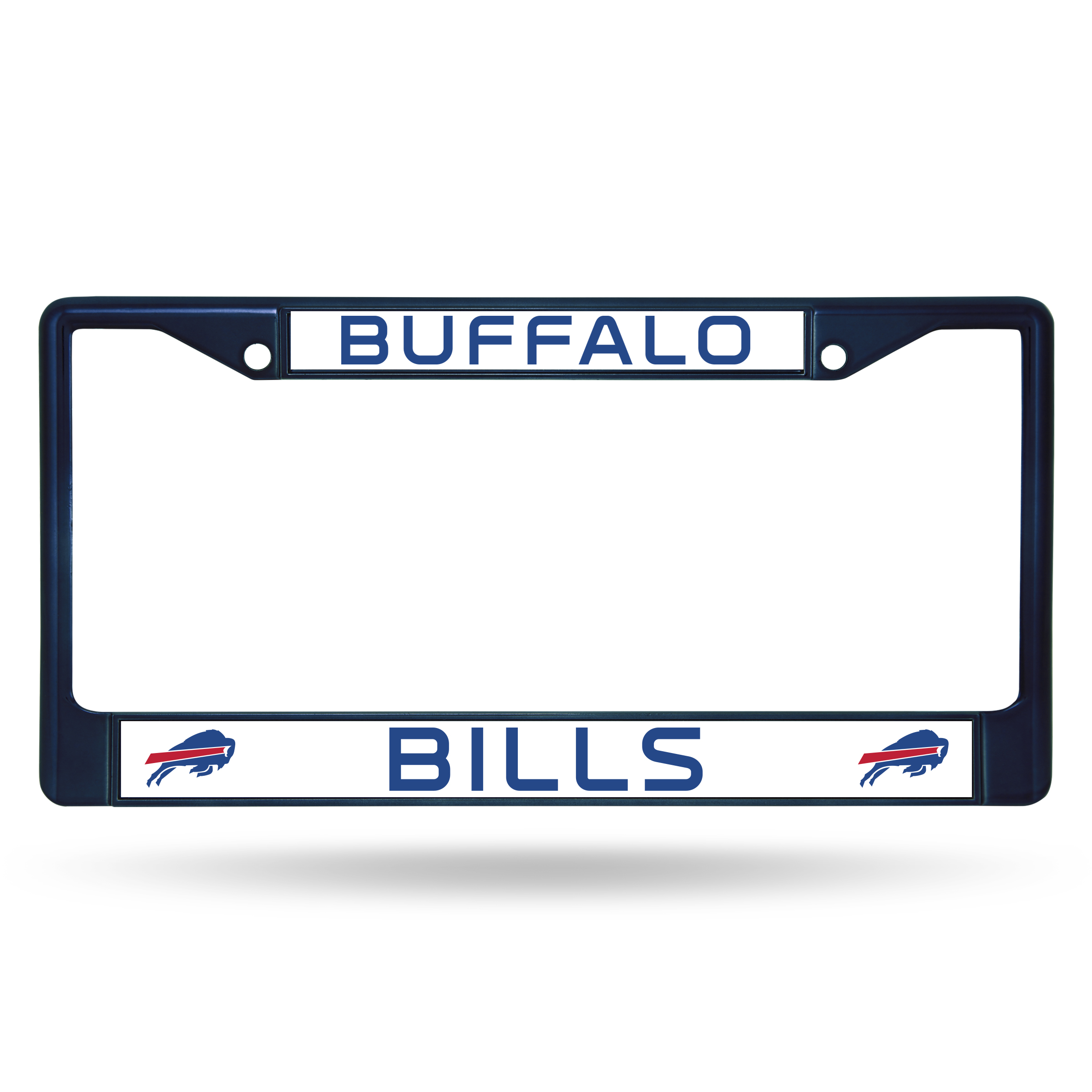 Buffalo Bills Metal License Plate Frame - Navy