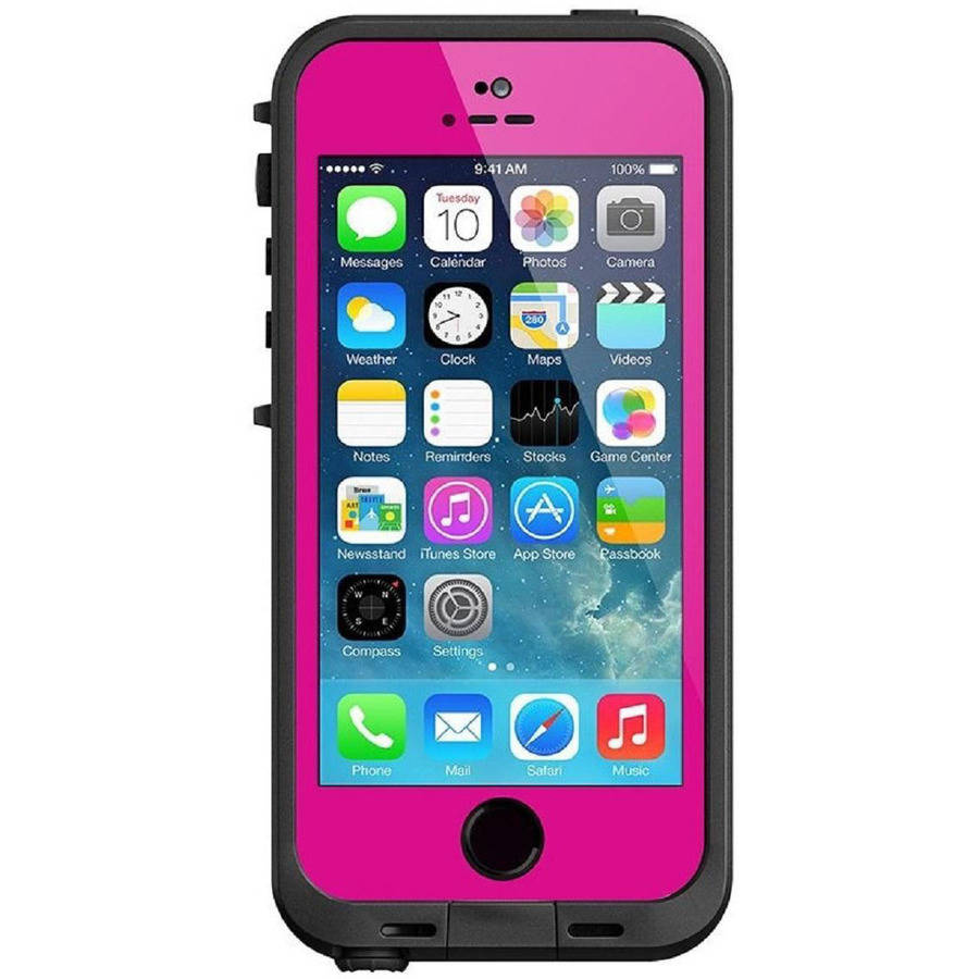 LifeProof Fre Case for Apple iPhone SE 5 5S - Magenta/Black