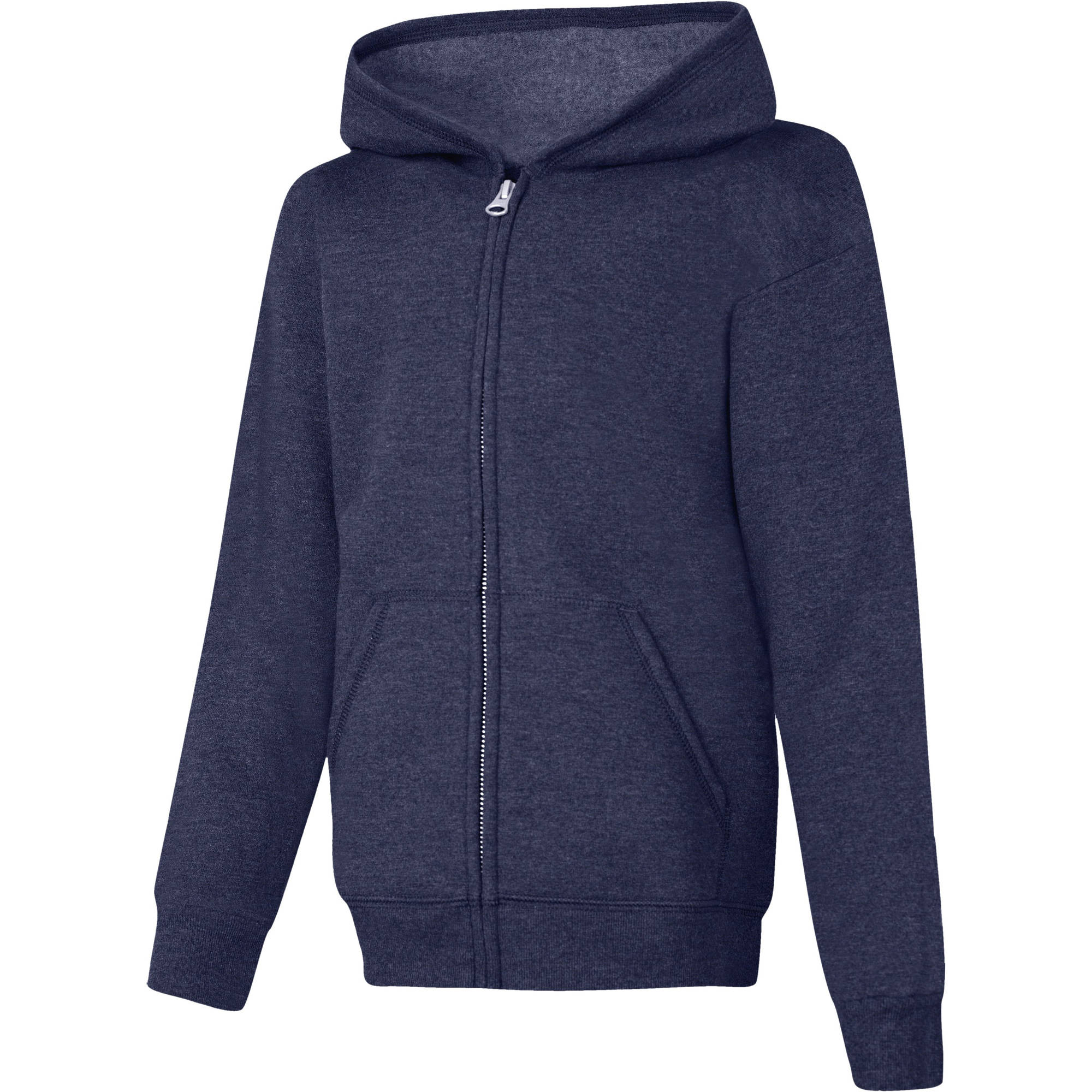 Hanes Boys' Fleece Zip Hood Jacket