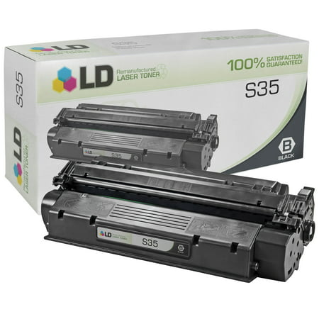 LD Remanufactured Black Laser Toner Cartridge for Canon 7833A001AA (S35) for use in the ICD-340, ImageClass D320, D340, D383 Printers 1010 Remanufactured Toner Cartridge